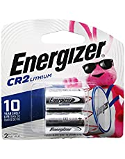 Energizer CR2 Lithium Battery, Pack of 2