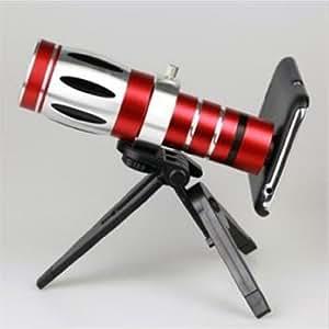 20x Optical Zoom Aluminum Telescope Camera Lens For iphone4/4s