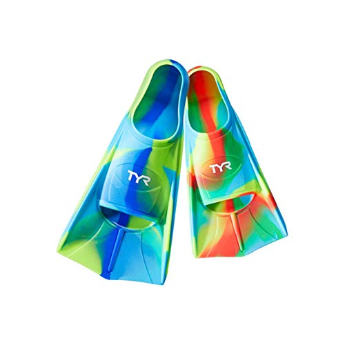 TYR Stryker Kids Silicone fin Swimming Equipment, No Color, ()