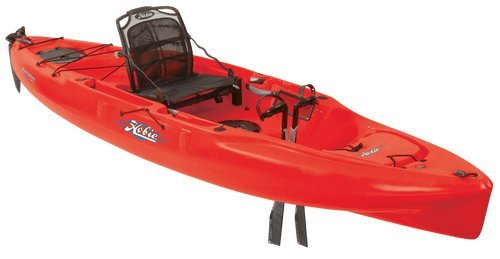 Hobie Mirage 180 Outback Kayak Red Hibiscus