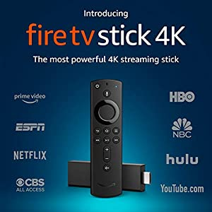 Amazon Fire TV Stick 4K with all-new Alexa Voice Remote