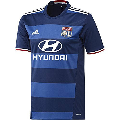 adidas 2016-2017 Olympique Lyon Away Football Shirt