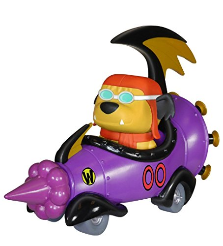 POP Rides: Wacky Racers - Hanna Barbera Mean Machine with Goggled Muttley POP (Ride Racer)