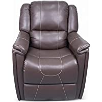 Thomas Payne 377710 Majestic Chocolate Swivel Glider Recliner