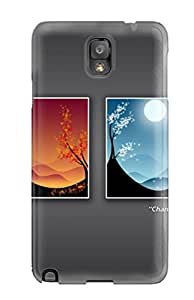 Chris Mowry Miller's Shop Protective Case For Galaxy Note 3(change Of Seasons) 3613583K65925339