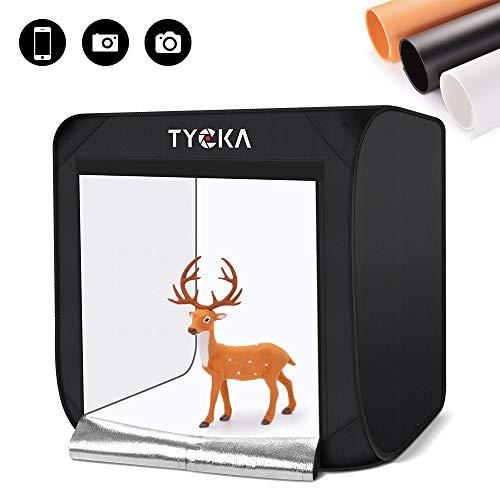 TYCKA Light Box for Product Photography, Portable Photo Studio 24