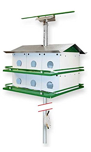 Nature House Martin Safety System with Pole, 12 Room
