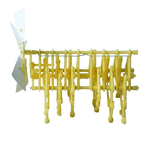 MagiDeal Mini Strandbeest Model Wind Power Beast DIY Educational Toys Handmade Science Experiment Toys Children Birthday Gifts by MagiDeal