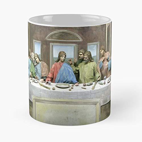 Last Supper Living Art Costume Gilmorism - Coffee Mug 11 Oz Funny Gift]()