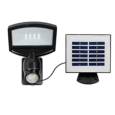 Utilitech pro 180 degree 1 head black solar powered led motion utilitech pro 180 degree 1 head black solar powered led motion activated flood mozeypictures Gallery