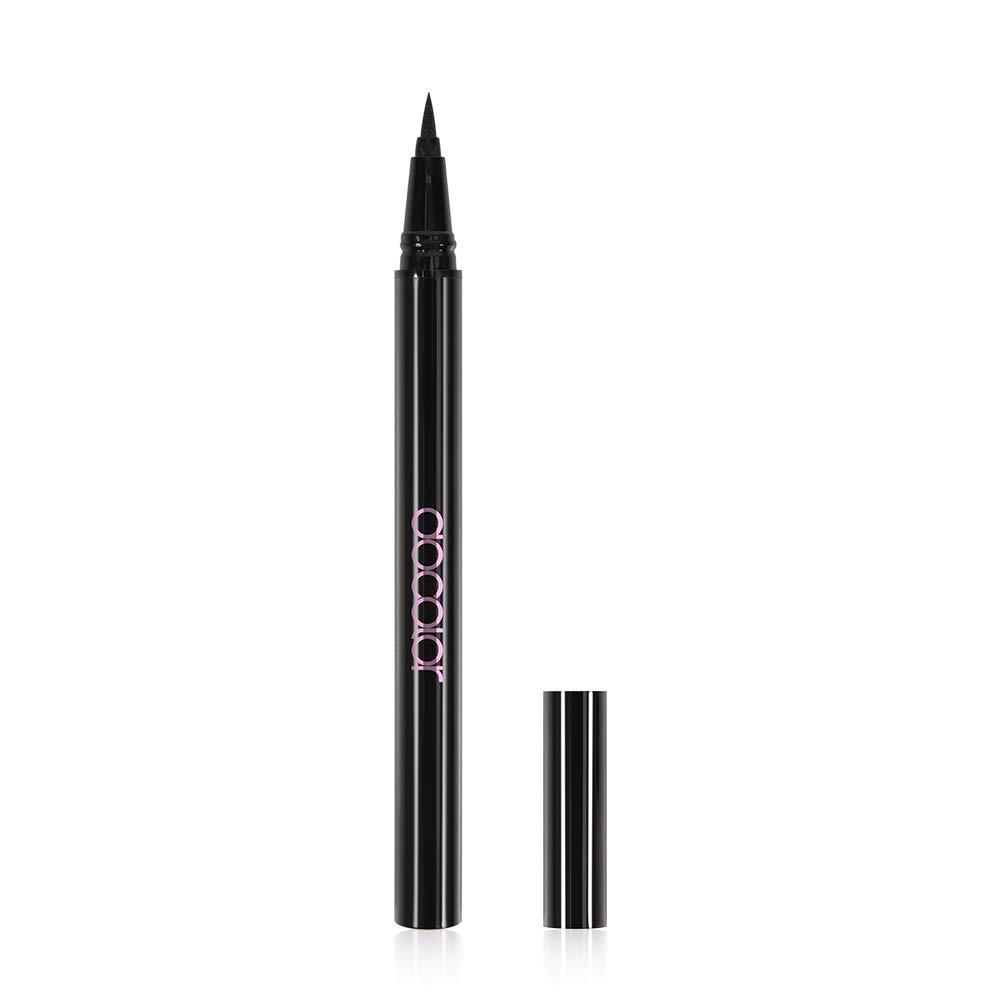 Docolor Eyeliner Pen Super Slim Long-Lasting Liquid Eyeliner Makeup Waterproof Eye Liner Gel Black