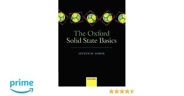 The Oxford Solid State Basics: Amazon.es: Steven H. Simon: Libros en idiomas extranjeros