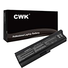 CWK 9 Cell High Capacity Laptop Notebook Battery for Toshiba Satellite L650 L655 PA3818U-1BRS L323 L515D M300-600 M300-700-R M300-900 M300-J00 M300 Series L510 L510-015 L510-ST3405