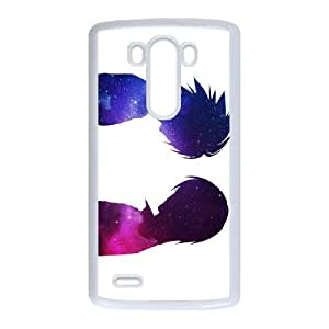 Death Note LG G3 Cell Phone Case White TPU Phone Case SV_125758