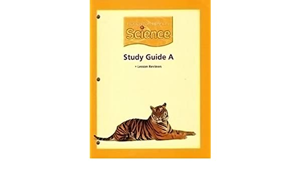 """Amazon com: Houghton Mifflin Science: Study Guide """"A"""" Extra Support"""