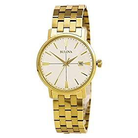 Bulova Classic - 97B152 Gold Bracelet Watch