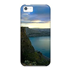 Protection Cases For Iphone 5c / Cases Covers For Iphone(open Lake)