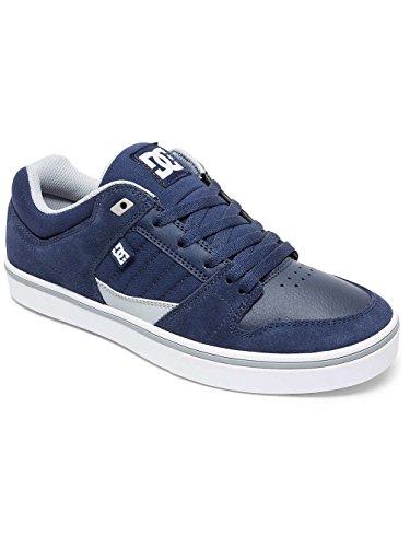 DC Marine Low Bleu Top 2 Shoes Blanc Sneaker Uomo Bleu M Course T46w1