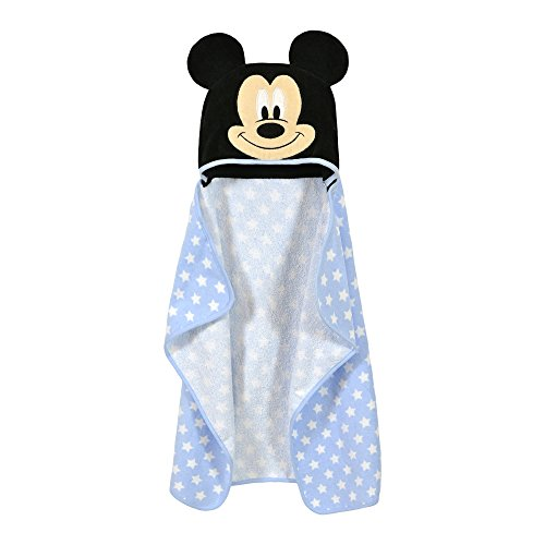 Disney Baby MICKEY MOUSE Intergalatic Puppet Hooded Towel, Red