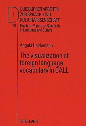 The visualization of foreign language vocabulary in CALL (Duisburger Arbeiten zur Sprach- und Kulturwissenschaft) by Peter Lang GmbH, Internationaler Verlag der Wissenschaften