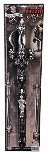 Forum Novelties Dark Royalty Sword, Black