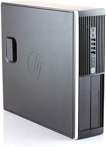 Ordenador de sobremesa HP Elite 8300 Intel Core i5-3470, 3.2Ghz, 8GB de RAM, Disco 500GB HDD, Windows 7//8 Pro 64 bits PC Reacondicionado