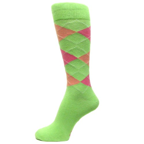 Pink And Green Argyle - 2