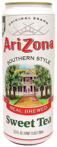 Arizona Sweet Southern Tea, 23-Ounces (Pack Of 24) ()