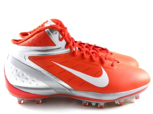 Nike Air Zoom Alfa Talon Mens Fotbolls Klotsar Orange Blixt / Vit-krom