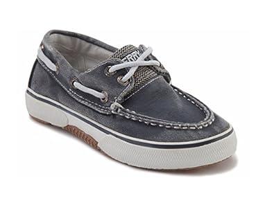 Amazon | Sperry TopSider Halyard JR Boat Shoe Toddler/Little Kid |  Sneakers