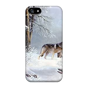 Pretty GuTNJ2974fMWvE For Ipod Touch 4 Phone Case Cover est Wolf Series High Quality Case
