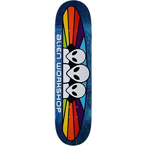 - Alien Workshop Spectrum Mini Skateboard Deck -7.25 Assorted Stain - Assembled AS Complete Skateboard