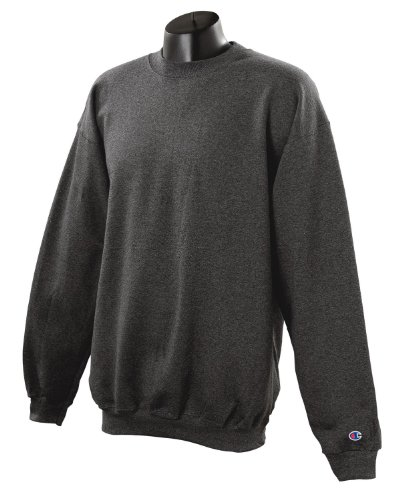 Felpa Eco® Girocollo Heather Charcoal G Champion 255 Peso A aqdxSxIfw