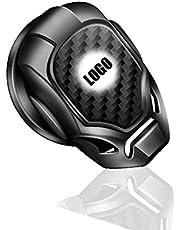 Zinc Alloy One-Key Start Cover, Car Engine Start Stop Button Cover Decorative, Flip-Top Design, Suitable for Various Models