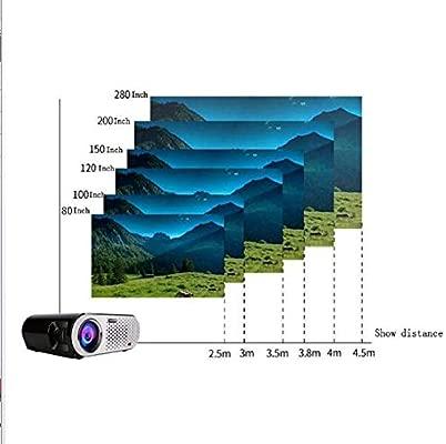 ZUZEN Multi-función proyector GP100 Cine en casa portátil película ...