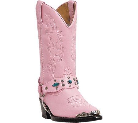 Laredo Childrens Little Concho Pink Boots 2.5 (Laredo Concho Harness Boots compare prices)