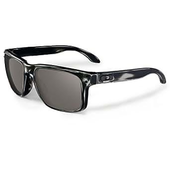 Oakley Skate Deck Holbrook Men's Sunglasses - Distressed Matte Black/Grey