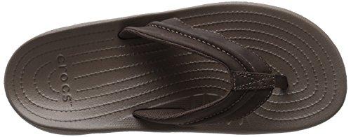 Crocs Mens Yukon Mesa Flip-flop Espresso / Walnoot