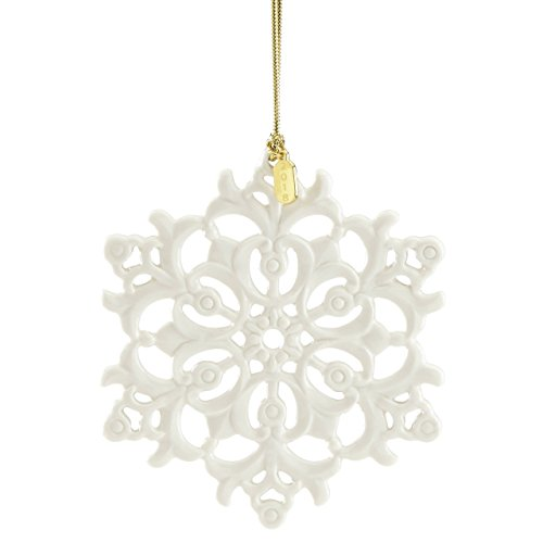Lenox 2018 Snow Fantasies Snowflake (China Snowflake Ornament)