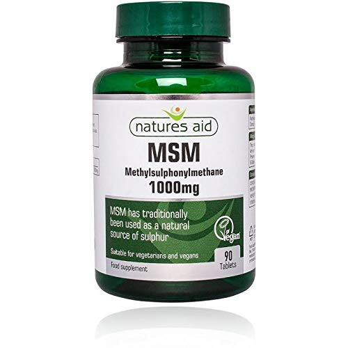Natures Aid MSM 1000mg 90 Tabs - 6 Pack
