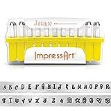 ImpressArt, Jeanie, Metal Letter Stamps, Uppercase