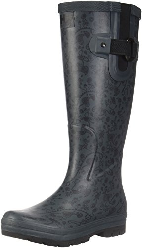 Helly Hansen W Veierland 2 Graphic, Rain Boots for Women Black Size: 7 UK