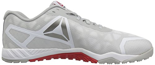 Reebok Men's Ros Workout TR 2.0 White/Skull Grey/Riot Red buy cheap websites clearance ebay ey9A8vSot