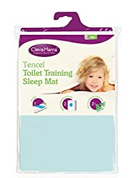 Clevamama Toilet Training Sleep Mat, Blue