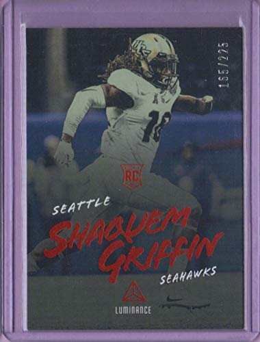 2018 Panini Luminance Orange  116 Shaquem Griffin - Rookie Year at Amazon s  Sports Collectibles Store 31bf6d6e2