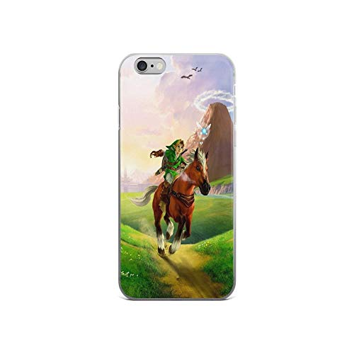 iPhone 6 Case iPhone 6s Case Cases Clear Anti-Scratch Zelda!, Zelda Cover Case for iPhone 6/iPhone 6s, Crystal Clear (The Legend Of Zelda Spirit Tracks Bosses)