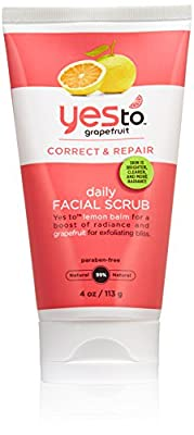 Yes to Grapefruit Daily Facial Scrub, 4 Ounce