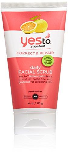 Yes to Grapefruit Daily Facial Scrub, 4 Ounce