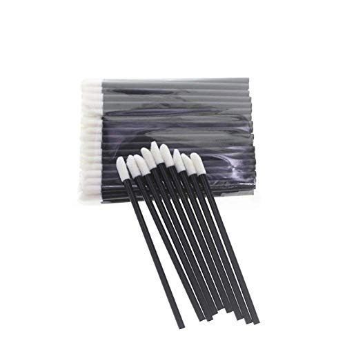 Disposable Lip Brushes Soft Cosmetic Makeup Applicators Gloss Wands Lipstick Brush Wands Gloss Cleaning Make Up Brush