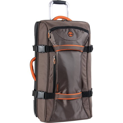 Timberland Luggage Twin Mountain 26 Inch Wheeled Duffle, Cocoa, One Size